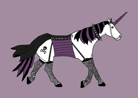 "Is ""Goth Unicorn"" an oxymoron?"
