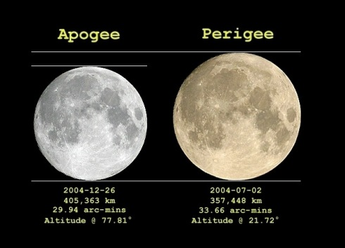 The technical name for this is perigee-syzygy of the Earth-Moon-Sun system.