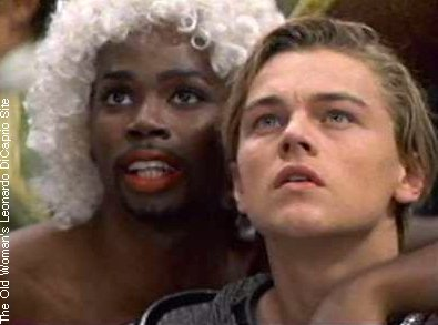 "Remember ""Mercutio"" from Romeo and Juliet? Probably that's how he got his name. Also: that was a really good 90's movie!"