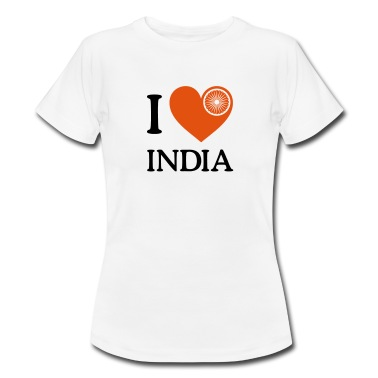 """I totally would LOVE to go to India. My shirt says so."""