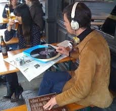 """""""The sound quality is so much better and totally makes lugging a RECORD PLAYER TO A COFFEE SHOP worth it."""""""