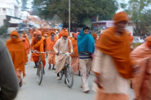 Babas in Haridwar.